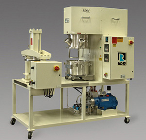 Planetary Disperser  & Discharge System - 4 Gallon Mixing Capacity